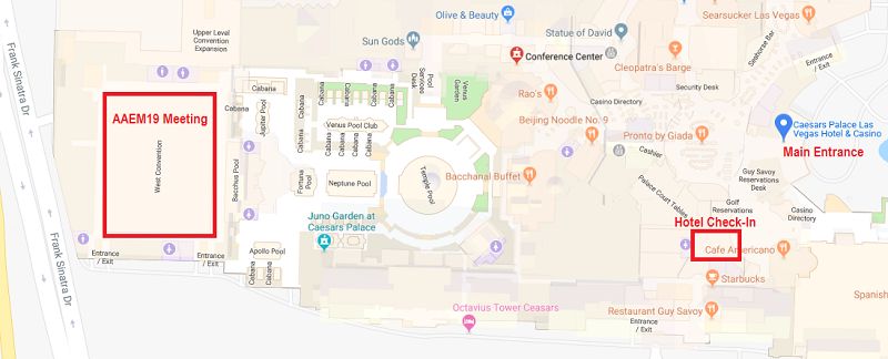 Directions to AAEM19 Meeting Space | AAEM19 on